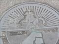 Image for Horse & Rider manhole cover, Jacksonville, FL