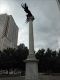 Image for Eagle Atop Column at Federal Reserve Bank, (sculpture).