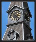 Image for Clocks on the Grammar School - Nymburk, Czech Republic
