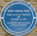 Image for New Cross Fire - 30 years - New Cross Road, London, UK