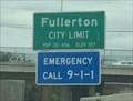Image for Fullerton, CA ~ Population 121,456