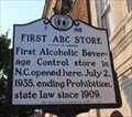 Image for First ABC Liquor store in North Carolina