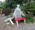 Image for Wire Bear seat - Story Garden, Discovery Center, Binghamton, NY