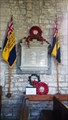 Image for Combined WWI / WWII memorial plaque - St John the Baptist - Tisbury, Wiltshire