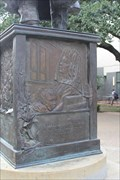 Image for MLK Statue Reliefs -- University of Texas, Austin TX