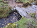 Image for Single Slab Bridge, Devonport Leat, South Dartmoor, Devon UK