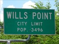 Image for Wills Point, TX - Population 3496