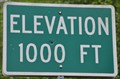 Image for Spirit Lake Memorial Highway ~ Elevation 1000 Feet