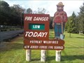 Image for Smokey the Bear Sign at Ramapo Valley Co Reservation