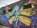 Image for Butterfly Girl Mural  -  San Diego, CA