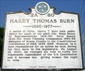 Image for HARRY THOMAS BURN ~ 2A 80