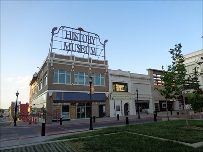 History Museum Neon - Route 66, Springfield, MO.