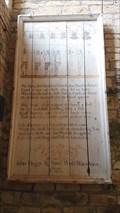 Image for Ringer's Rhyme Board - St James - St Kew, Cornwall