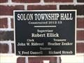 Image for Solon Township Hall - 2012-13 - Cedar Spring, Michigan