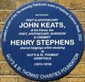 Image for John Keats - St Thomas Street, London, UK
