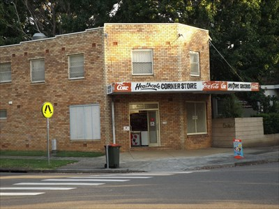 Corner of Wilson Parade, and The Ave, Heathcote, NSW