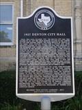 Image for 1927 Denton City Hall