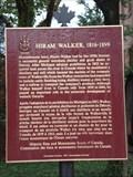 Image for CNHS - Hiram Walker, 1816 - 1899 ~ Windsor, Ontario, Canada