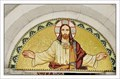 Image for Tympanum mosaic of Church of St. George (Pfarrkirche zum Heiligen Georg) - Pürgg, Austria