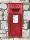 Image for Wall Mounted Post Box, Railway Station, Teignmouth, Devon.