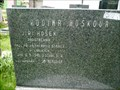 Image for Jirí Hošek grave - Pardubický slavín - Pardubice - Czech Republic