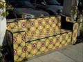 Image for Spanish tiled bench - Santa Barbara, California