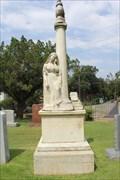 Image for US Senator John Hemphill -- Texas State Cemetery, Austin TX