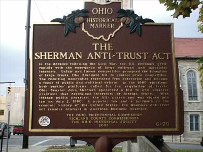 sherman anti act
