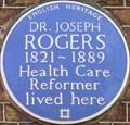 Image for Dr Joseph Rogers - 33 Dean Street, London, UK