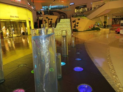 Inside the Crystals shopping mall, City Center, Las Vegas