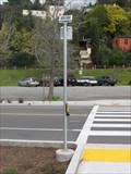Image for Fairfax solar powered crossing signal - Fairfax, CA