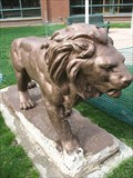 Image for Lion at Lyons Township High School - La Grange, IL