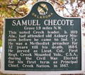 Image for Samuel Checote - Okmulgee, Oklahoma