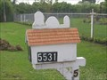 Image for An Old Snoopy Mailbox