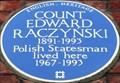 Image for Count Edward Raczynski - Lennox Gardens, London, UK
