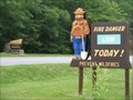 Image for Smokey Bear at Bradford Ranger Station, Allegheny National Forest