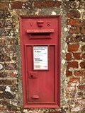 Image for Victorian Wall Post Box - Tufton, near Whitchurch, Hampshire, UK