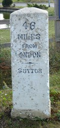 Image for Milestone - B1040, Potton Rd, Biggleswade, Bedfordshire, UK..
