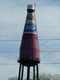Image for World's Largest Ketchup Bottle - Route 66 - Collinsville, Illinois, USA
