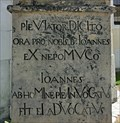 Image for 1726 - Statue of St. John of Nepomuk - Zvole, Czech Republic