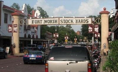 Stockyards Entrance