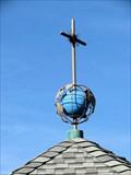 Image for Stone House Gazebo Earth Globe - Golden, CO