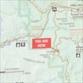 Image for Glacier Point Rest Area Map - Yosemite, CA