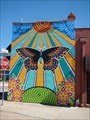 Image for Bright butterfly mural - Enid, OK