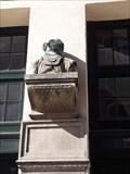 Image for Diving helmet on the facade, Kvæsthusgade , København - Denmark