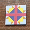 Image for Cross and Crown Quilt Block, Burnsville NC