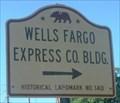 Image for CA Historic Marker: Wells Fargo Bank