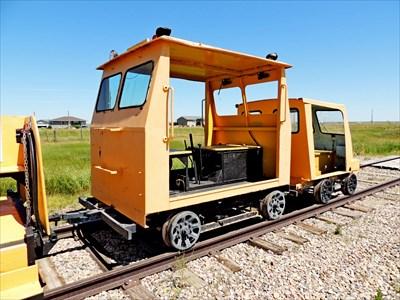Fairmont A6 Speeder - Stirling, AB - Railroad Maintenance-Of-Way