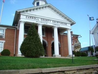 Carroll County Courthouse - Hillsville, Virginia