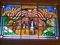 Image for KS Bicentennial Windows -- N entrance KS State Capitol, Topeka KS